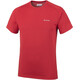 Columbia Mountain Tech III Shortsleeve Shirt Men red